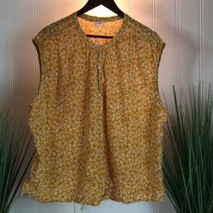 Old Navy Floral Sleeveless Top